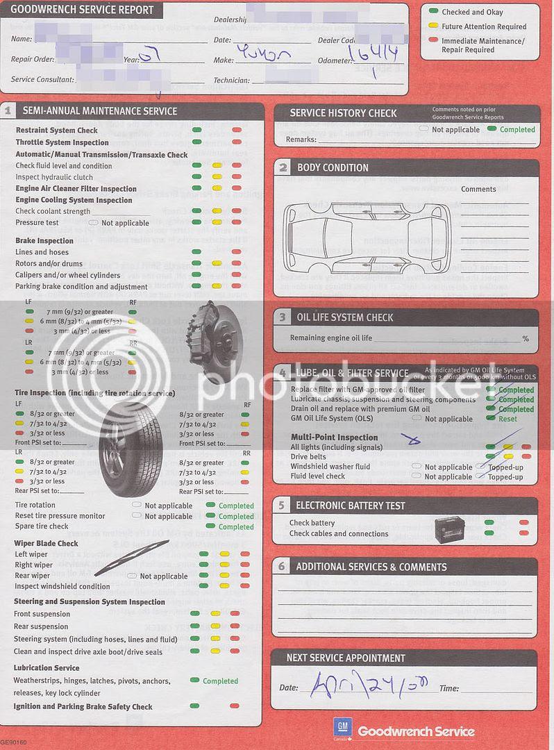 GMC Yukon XL Denali invoice 4/4