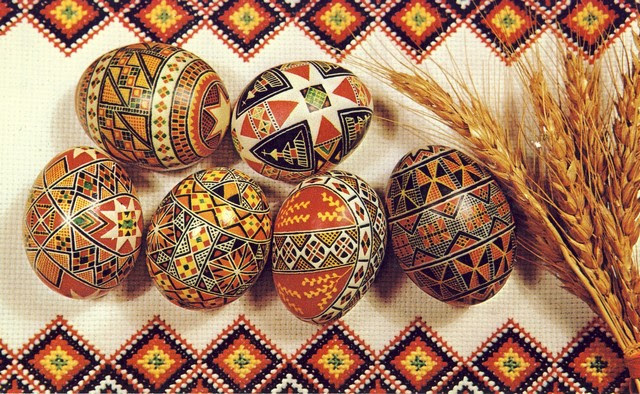 When Christianity Was Introduced In The Ukraine 10th Century Eggs Rolled With Changes Just As Adopted Pagan Symbols
