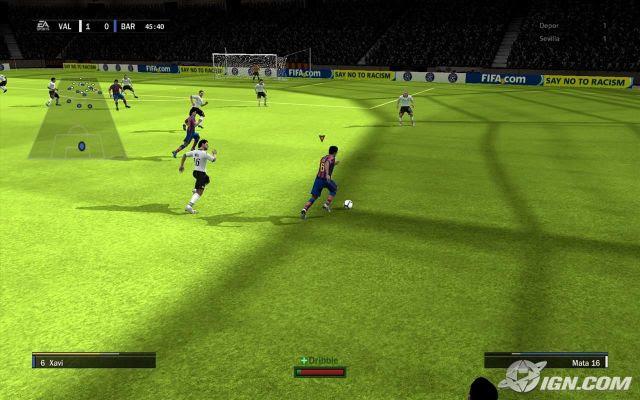 FIFA Soccer 10 Screenshot