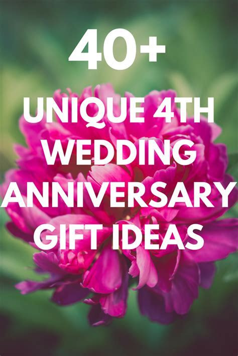 Best 4th Wedding Anniversary Gift Ideas for Him and Her