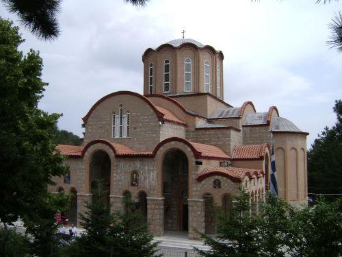 Η εκκλησία της Παναγίας Σουμελά