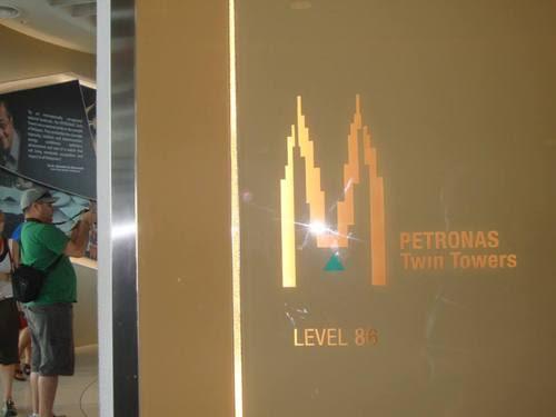 86 eтаж на PETRONAS Twin Towers