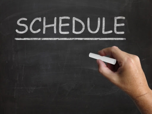 Image result for schedule word