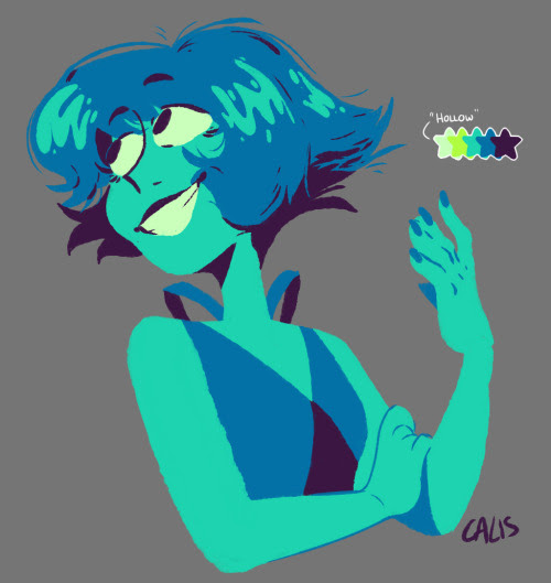 lennylapis said: Hollow with Lapis Answer:
