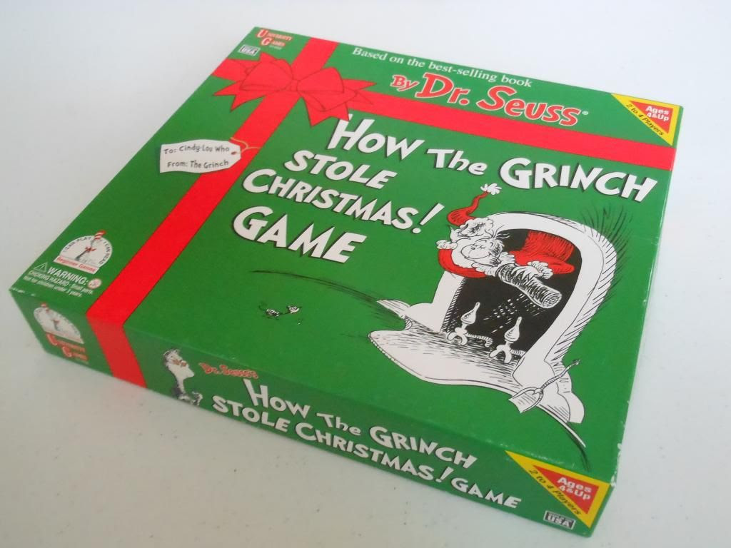 How the Grinch Stole Christmas board game
