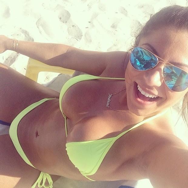Andressa, namorada de Thammy Miranda (Foto: Instagram / Reprodução)