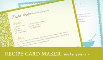1000+ images about recipe cards on Pinterest | Printable recipe ...