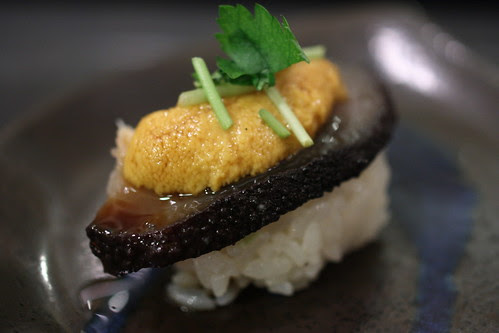 Namako Uni (Sea Cucumber and Uni)