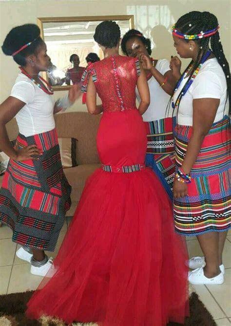 Gorgeous Venda bridal team   South African Fashion