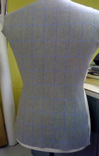 shaping back finished