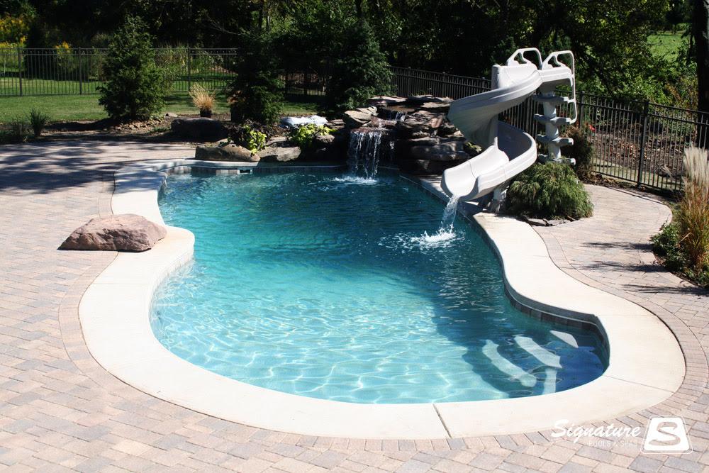 Onceuponatimemynamewaskimberly deck to patio designs for Pool design names