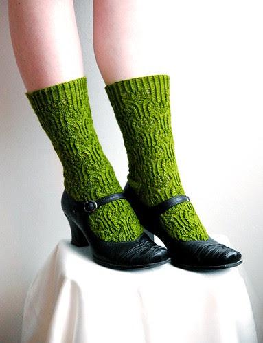 Rosebud Socks