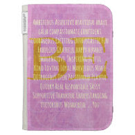 Motivational Be You Quote Kindle Keyboard Covers