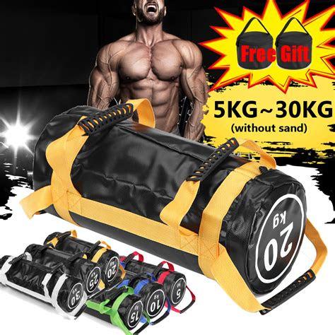 lbs workout sand bag fitness exercise training sandbag