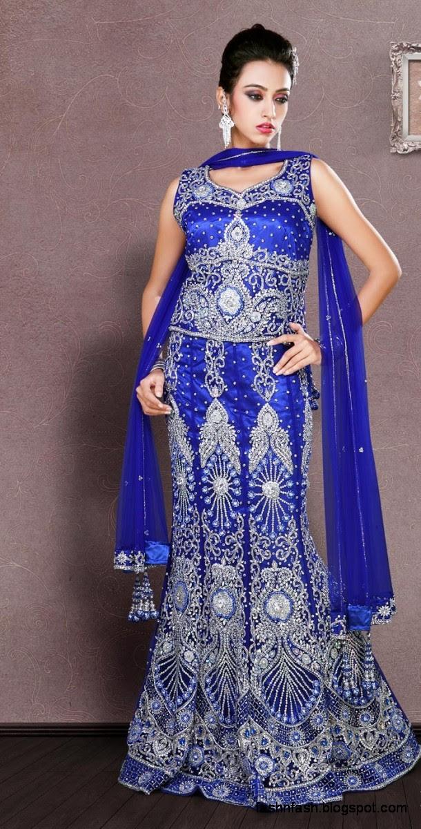Bridal-Brides-Wedding-Dress-Beautiful-Indian-Bridal-Valima-Lehanga-Choli-Collection-7