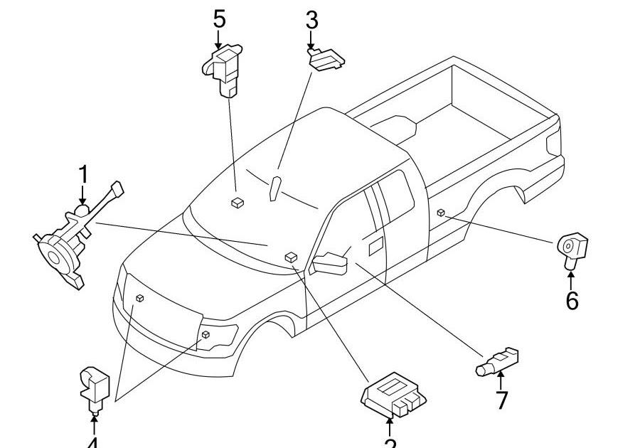 33 2013 Ford F150 Parts Diagram