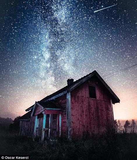 Falling Star foi batido em Somero, Finlândia