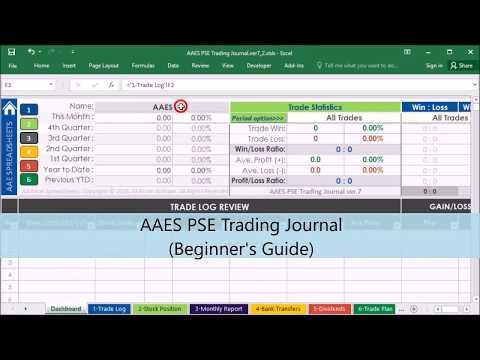 Forex trading journal excel download