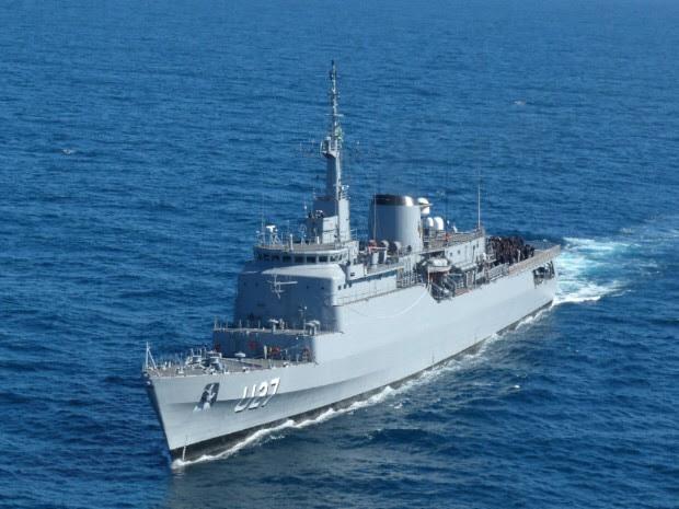 O Navio Escola estará no Recife por um dia antes de partir para o exterior. (Foto: Divulgação / Marinha do Brasil)