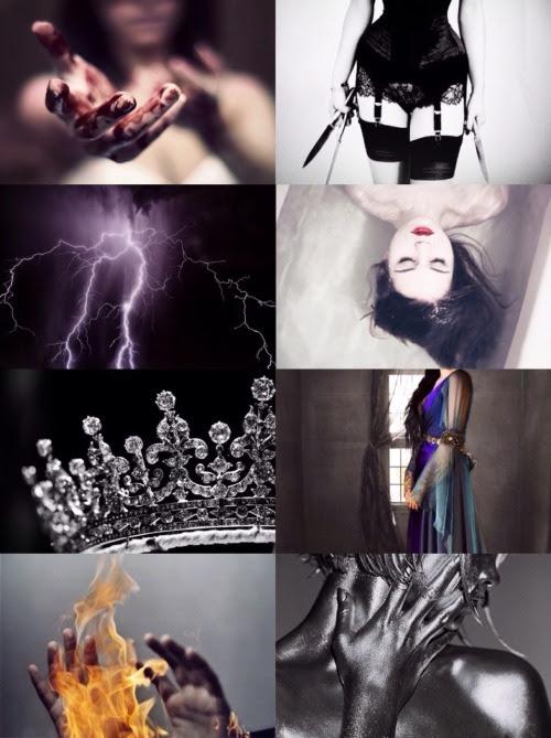 Resultado de imagen para red queen libro personajes