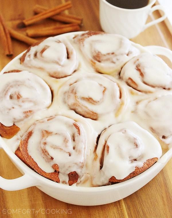 Easy Super Soft Cinnamon Rolls The Comfort Of Cooking