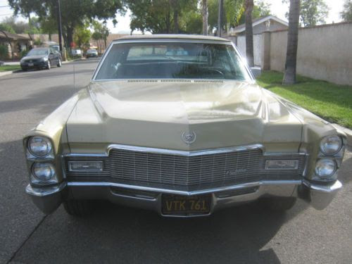 Find used 1968 Cadillac Fleetwood brougham Ca. black plate ...