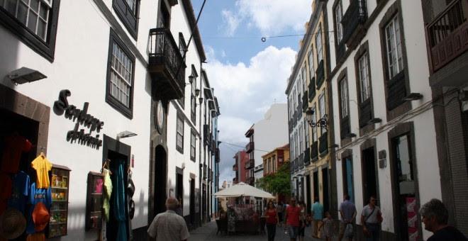 Calle Pérez de Brito, en Santa Cruz de la Palma. / WEB MUNICIPAL