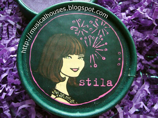 stila Seasonal Eye Shadow Trio Shimmer Shadows 2005 Cool lid