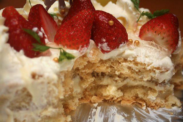 Strawberry shortcake from Tampopo Deli