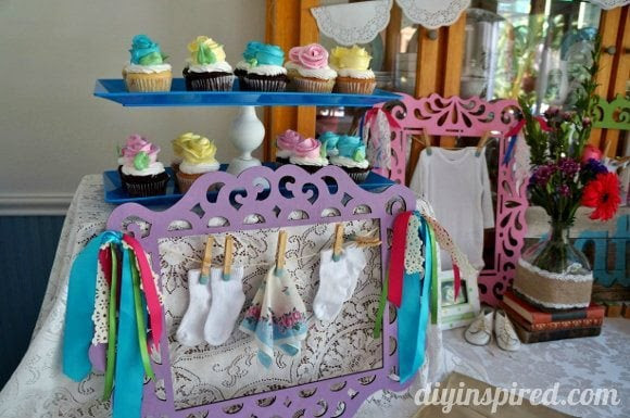 Vintage Themed Baby Shower » DIY Inspired