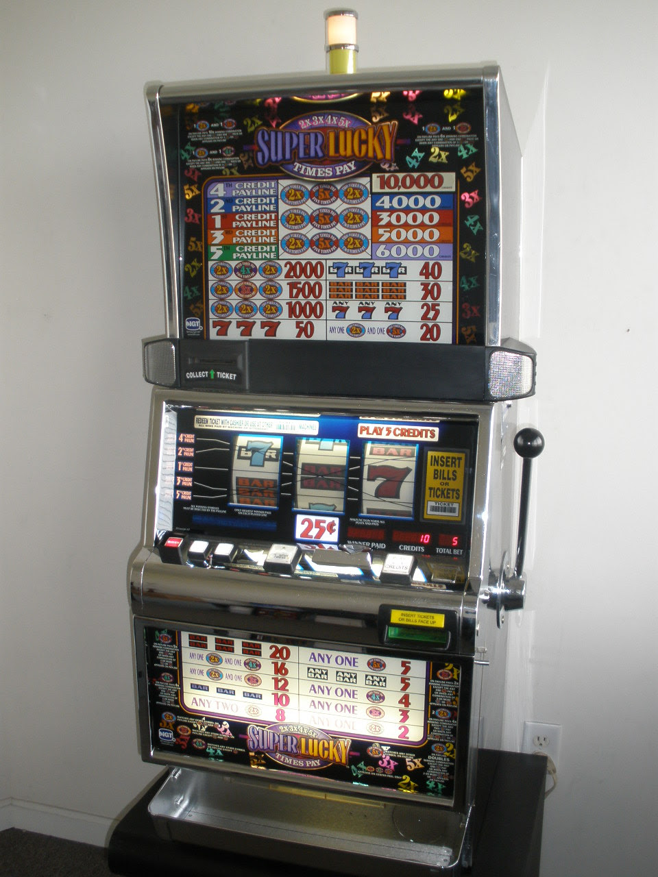 Slot machine laws by state