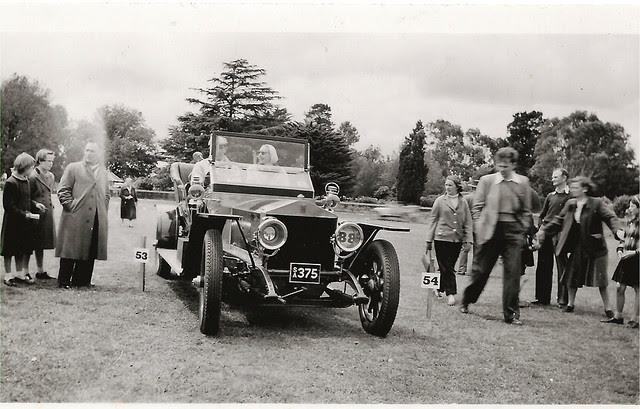 Vintage Car. Melbourne, Vic c1957-58