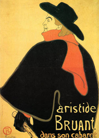 Aristede Bruand at His Cabaret: 1893
