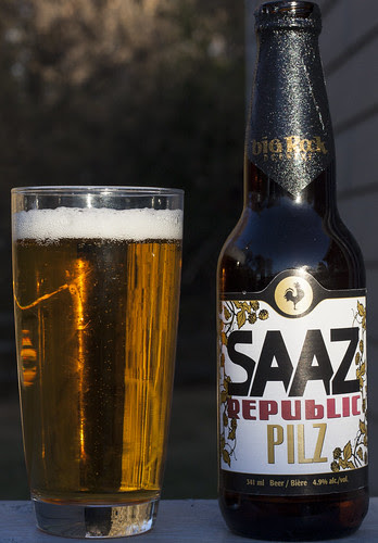 Review: Big Rock Saaz Republic Pilz PIlsener by Cody La Bière
