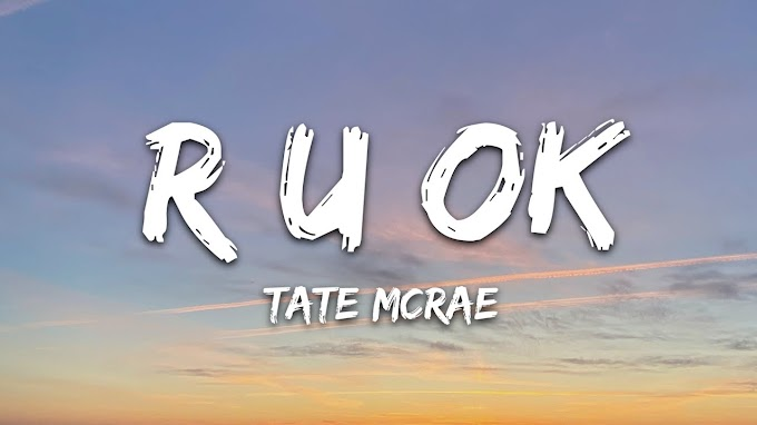 Tate McRae - r u ok (Lyrics)