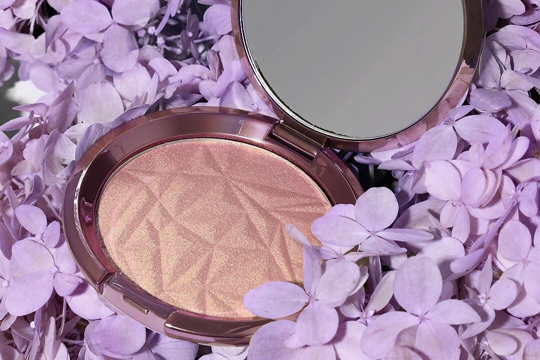 Becca Shimmering Skin Perfector in Lilac Geode Swatches