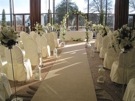 Trim Castle Hotel civil ceremony decorated by All About