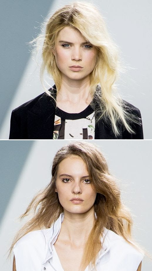 LE FASHION BLOG 31 PHILLIP LIM SS SPRING SUMMER 2013 HAIR WAVY TEXTURED LOOSE WAVES CURLS PAUL MITCHELL CURL CAMPAIGN GRUNGE BEAUTY