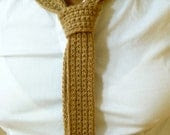 Camel Skinny Tie, Pure Baby Camel Hair, similar to Knit Ties, Exclusive Tie, Charitable Donation