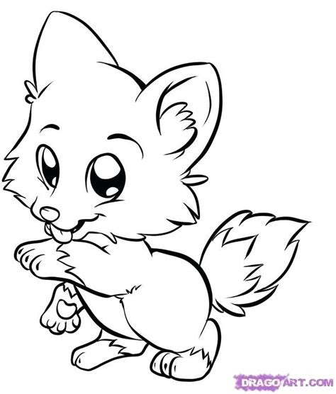 cute animals  big eyes coloring pages  getcolorings