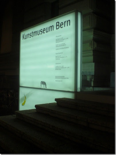 Kunstmuseum Bern und der Vogel