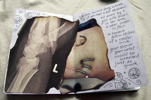 sketchbook / centre spread