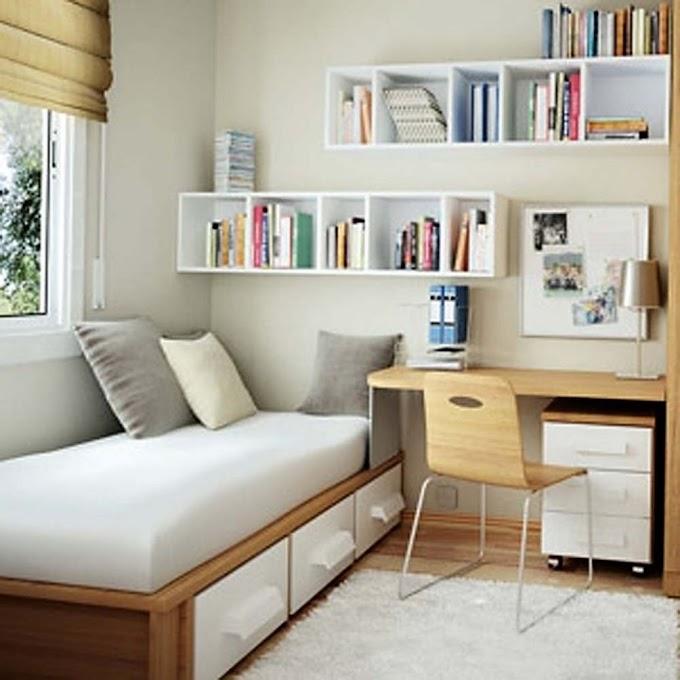 Desain Interior Kamar Tidur Minimalis Ukuran 2x3