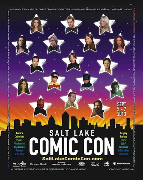 Salt Lake Comic Con 2013 Guests