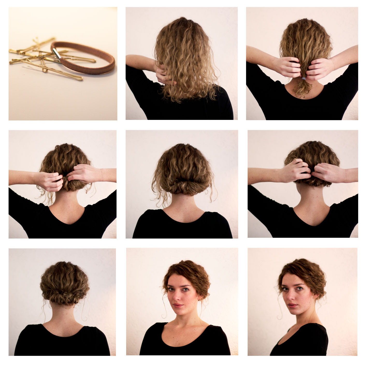 How to Make  Long  Hair  Short  Faux Bob Hair  Tutorials