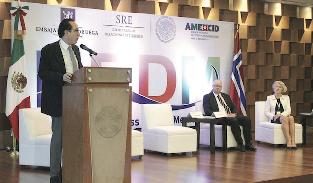 Norway, Mexico strengthen ties (PHOTO COURTESY OF SRE)