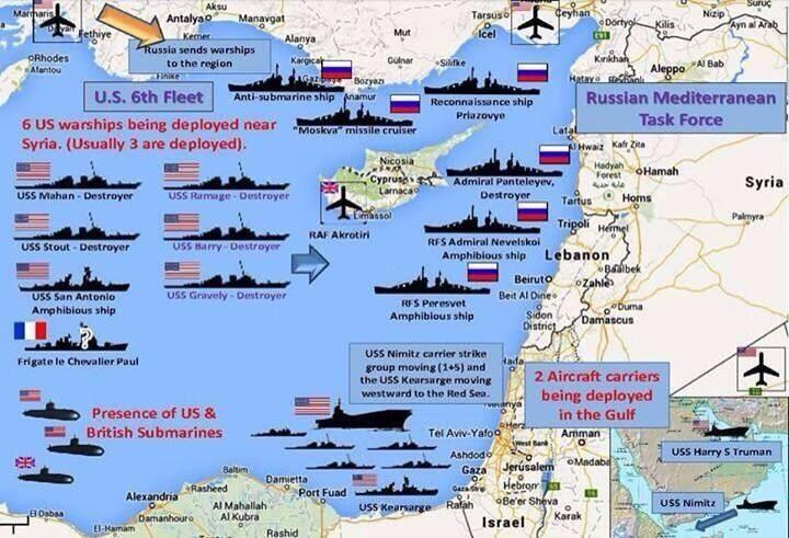Medi fleet standoff