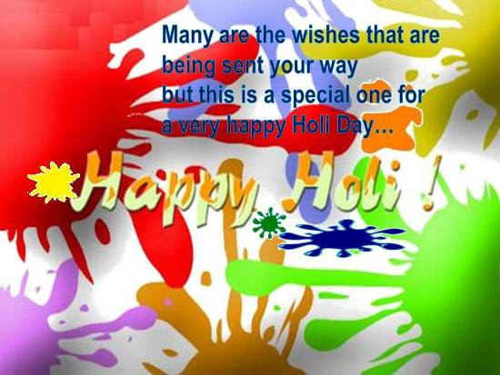 Colors Of Joy For A Happy Holi Free Happy Holi Ecards Greeting