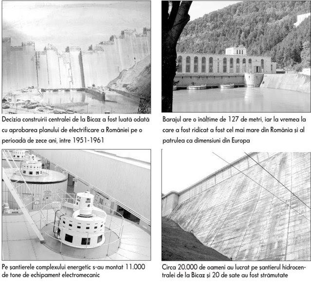 Cum s-a construit în zece ani hidrocentrala care a luminat România  şi ce poveşti de viaţă au rezistat muncii pe şantierul de la Bicaz
