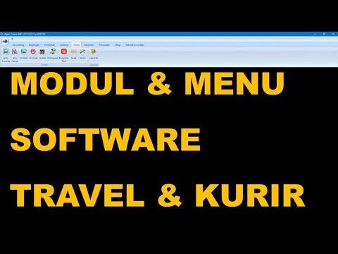 Software Travel dan Kurir